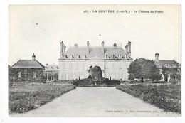 LA COUYERE  (cpa 35)    Château Du Plessis -    - L 1 - Francia