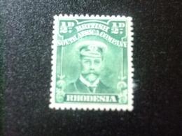 RHODESIA RHODESIE 1913 - 22 GEORGE V Yvert Nº  39 * MH - Sin Clasificación
