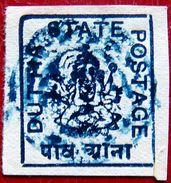 DUTTIA 1916 1/4a Ganesh MLH SG29 CV£6 - Datia