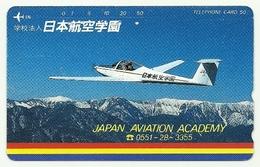 Giappone - Tessera Telefonica Da 105 Units T183 - NTT, - Aerei