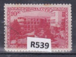 """URSS 1939: Francobollo Usato Da 10k. Della Serie """"Luoghi Di Cura Del Caucaso"""" - 1923-1991 URSS"""