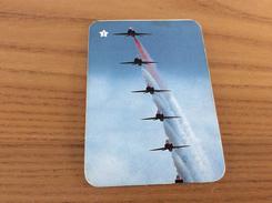"""Calendrier 1993 PORTUGAL """"Avion N°3 - Patrouille / FACA COMO EU PRATIQUE DESPORTO"""" (7x10cm) Chromo - Calendari"""