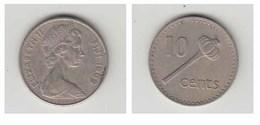 FIJI -10 CENTS 1969 - Monnaies