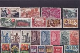 AEF :Y&T : Lot De 25 Timbres  Oblitérés,* - A.E.F. (1936-1958)