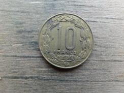 Central African  10 Francs  1974  Km 9 - Centrafricaine (République)