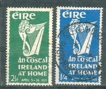 IRLANDE ; EIRE ; 1953 ; Y&T N° 118-119 ; Oblitéré - 1949-... République D'Irlande