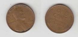 ONE CENT 1934 - Émissions Fédérales