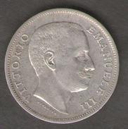 ITALIA 1 LIRA 1901 VITTORIO EMANUELE III AG SILVER - 1861-1946 : Regno