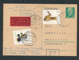 Express -  Beleg     (g6334 )  Siehe Bild - DDR