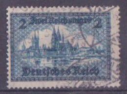 62-694 // DR - 1924   FREIMARKEN  BAUWERKE  Mi 365 O - Germania