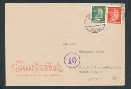 Hainsberg -Beleg  ... Bedarf (g6470)  Siehe Bild - Briefe U. Dokumente