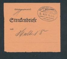 Bahnpost Stempel-Beleg.. (g6477)  Siehe Bild - Deutschland