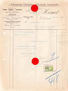 Verviers  1930  Rue Du Collège  HAMEL ELECTRICITE - Electricity & Gas