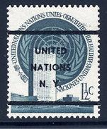UN New Yoek  Sc#  2  MNH Pre-cancel 1951 - New York – UN Headquarters