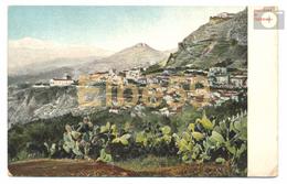Taormina (ME), Chromo, Panorama, Nuova - Italia
