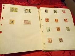 D0718 LOT FEUILLES MONDE A TRIER BELLE COTE DÉPART 10€ - Sammlungen (im Alben)
