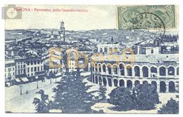 Verona (VR), Panorama Dalla Guardia Vecchia, Scritta 1917 - Verona