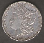 STATI UNITI DOLLARO MORGAN 1883 AG SILVER - 1878-1921: Morgan