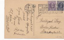 3096 Postal  Antwerpen 1928 Belgica - Bélgica