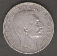 SERBIA 20 DINAR 1915 AG SILVER - Serbia