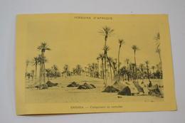 (MEL 17) CPA SAHARA - Campement De Nomades. - Western Sahara