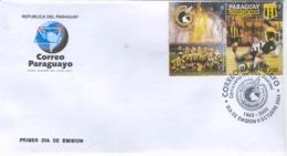 PARAGUAY 2003 GUARANI CLUB CENTENARY FDC - Non Classés