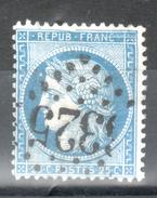 Y & T N°60 Avec Variété N°28 De Suarnet - 1871-1875 Cérès