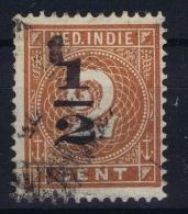 Ned. Indie: 1902 NVPH 38 Fa  Gedeeltelijk Dubbel Opdruk - Indes Néerlandaises