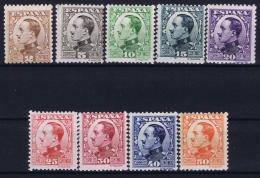 Spain: 1930  Ed 490 - 498  Mi Nr 562 - 570  MH/* Falz/ Charniere - Ungebraucht