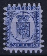Finland: 1866 Mi Nr 8 C  FA 8  Not Used (*) SG - Nuovi