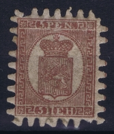Finland: 1866 Mi Nr 5 B ,   Very Light Hinged   MH/* Falz/ Charniere - Nuovi