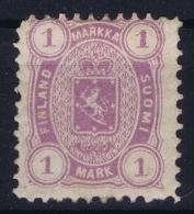 Finland: 1875  Mi Nr 19 Ay,   Perfo 11 X 11   MH/* Falz/ Charniere - Nuovi