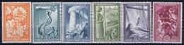 Greece: 1951  Mi 582 - 587 Marshall Help  MNH/**/postfrisch/neuf Sans Charniere - Unused Stamps
