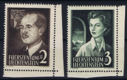 Liechtenstein: Mi Nr 332 - 333 Eckstücken MNH/**/postfrisch/neuf Sans Charniere - Liechtenstein