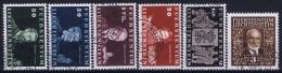 Liechtenstein: Mi Nr 186 - 191  Used Obl 1940 - Liechtenstein