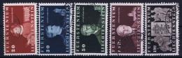 Liechtenstein: Mi Nr 186 - 190  Used Obl 1940  Part Set - Liechtenstein