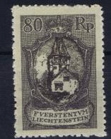 Liechtenstein: Mi Nr 59 MH/* Falz/ Charniere 1921 - Liechtenstein