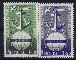 Portugal: 1952  Mi Nr 778 - 779  MNH/**/postfrisch/neuf Sans Charniere  OTAN NAVO - 1910-... República