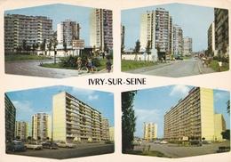 CPM  De  IVRY Sur SEINE (94)  -  Divers Aspects De La Cité Hoche   //  TBE - Ivry Sur Seine