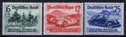 Reich: Mi Nr  686 - 688 MNH/**/postfrisch/neuf Sans Charniere 1939  688 Has A Spot In The Gum. - Germany