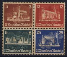Reich: Mi Nr  576 - 579 Not Used (*)  1924 Ostropa - Nuovi