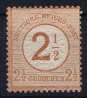 Reich: Mi Nr  29 MH/* Falz/ Charniere 1874 - Ungebraucht