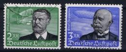 Reich: Mi Nr 538 - 539 Used Obl. 1934 - Luftpost