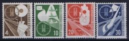 Deutschland: Mi 167 - 170 MNH/**/postfrisch/neuf Sans Charniere 1953 - [7] Repubblica Federale