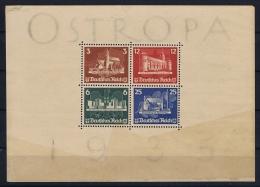 Reich: 1935 OSTROPA Block Nr 3  Not Used (*) SG - Blocks & Kleinbögen