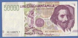 BANCANOTA Da Lire 50.000 Serie   VC   (250909) - 100.000 Lire