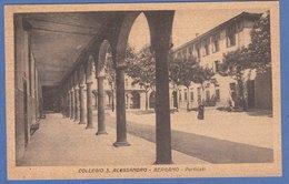 BERGAMO - F/P B/N   Cartonata -  Collegio S. Alessandro  (250909) - Bergamo