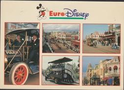 Grote Kaart 1993 EuroDisney Main Street USA FRANCE CPA Marne La Vallee - Disney