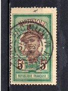 Martinique : 64 OBL - Usados