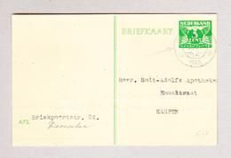 NL DEVENTER 8.10.1945 Ganzsache Nach Kampen - 1891-1948 (Wilhelmine)